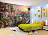 3D Kids, Cartoon, Fantasy Town Wallpaper-Nursery
