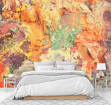 3D Heavy, Abstract, Painted Wallpaper