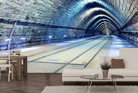 3D Realistic style, Mysterious, Tunnel Wallpaper