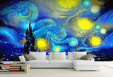 3D Abstract, Starry sky, Night scene Wallpaper