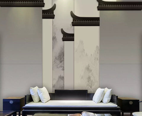 3D Hui style, Architecture Wallpaper