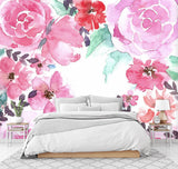3D Delicate, Charming, Pink flower Wallpaper