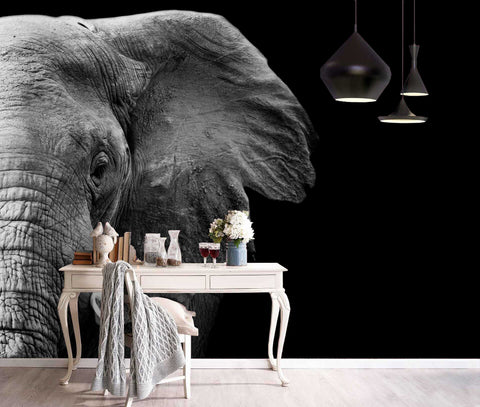 3D Wild, Elephant Wallpaper