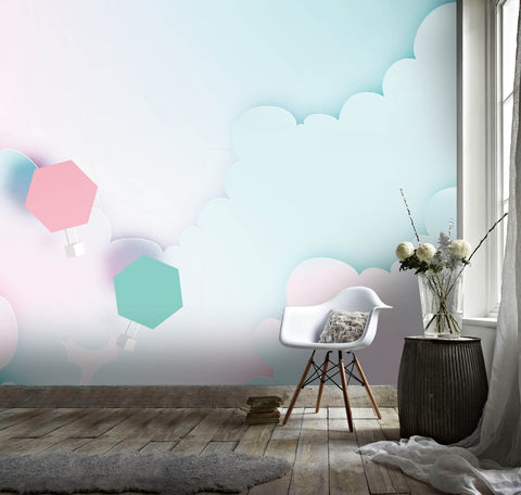 3D Abstract, Cartoon, Cloud Wallpaper
