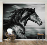 3D Handsome, Galloping horse Wallpaper