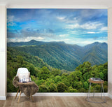 3D Spectacular, Green mountain Wallpaper