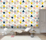 3D Light color, Abstract, Geometric figure Wallpaper