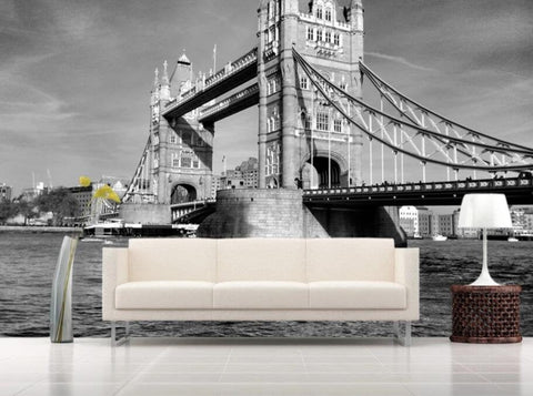 3D Vintage, European Architecture, Tower bridge Wallpaper