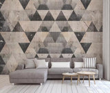 3D Warm-tones, Regular geometry Wallpaper