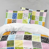 3D Abstract, The geometry Bedding Set Quilt Cover Quilt Duvet Cover ,Pillowcases Personalized  Bedding,Queen, King ,Full, Double 3 Pcs