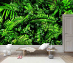 3D Mysterious, Green plant, Tropical scenery Wallpaper