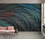 3D Abstract, Black feather Wallpaper
