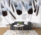 3D National style, Soft, Feather Wallpaper