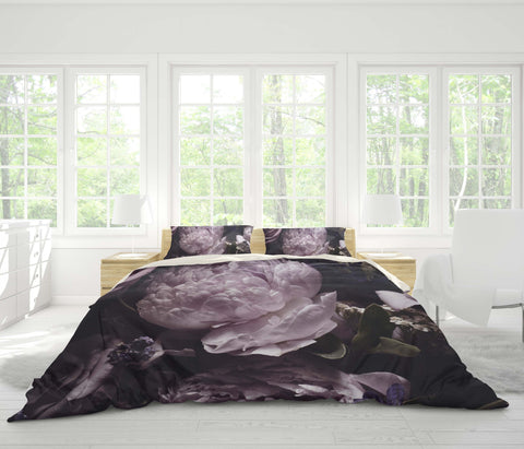 3D Dark style, Rose Bedding Set Quilt Cover Quilt Duvet Cover ,Pillowcases Personalized  Bedding,Queen, King ,Full, Double 3 Pcs