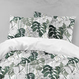 3D Tropical, Banana leaf Bedding Set Quilt Cover Quilt Duvet Cover ,Pillowcases Personalized  Bedding,Queen, King ,Full, Double 3 Pcs