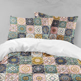 3D Colorful, National pattern Bedding Set Quilt Cover Quilt Duvet Cover ,Pillowcases Personalized  Bedding,Queen, King ,Full, Double 3 Pcs