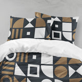 3D Dark shape Bedding Set Quilt Cover Quilt Duvet Cover ,Pillowcases Personalized  Bedding,Queen, King ,Full, Double 3 Pcs