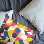 3D Colorful, Geometric shape Bedding Set Quilt Cover Quilt Duvet Cover ,Pillowcases Personalized  Bedding,Queen, King ,Full, Double 3 Pcs