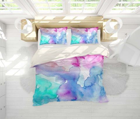 3D Watercolor shading  Quilt Cover Set Bedding Set Pillowcases