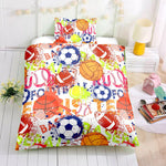3D Various  Ball game  Quilt Cover Set Bedding Set Pillowcases