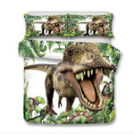 3D Tyrannosauru  Quilt Cover Set Bedding Set Pillowcases