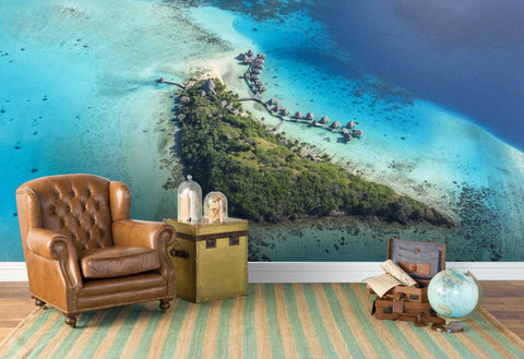 3D Fantastic???Island scenery Wallpaper