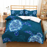 3D Cartoon  Abstract  Turtle  Quilt Cover Set Bedding Set Pillowcases