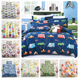 3D Dinosaur Tropical Plant Kids Duvet Cover Bedding Set Quilt Cover Pillowcases Personalized  Bedding Queen  King  Full  Double 3 Pcs