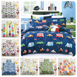 3D Owl Kids Pattern Flower Duvet Cover Bedding Set Quilt Cover Pillowcases Personalized  Bedding Queen  King  Full  Double 3 Pcs