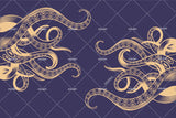 3D Abstract Octopus Tentacles Wall Mural Wallpaper WJ 3121