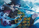 3D Cartoon Boy Sword Art Mural Wallpaper WJ 1349