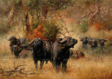 3D Realistic Grassland Yak Animal Wall Mural Wallpaper LXL 1603