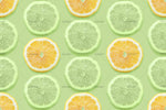 3D Lemon Pattern Wall Mural Wallpaper 42