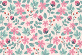 3D pink flowers wall mural wallpaper 30