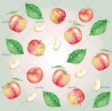 3D apple leaves wall mural wallpaper 22