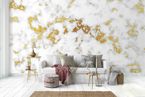 3D Light Marble Effect Wall Mural Wallpaper 22
