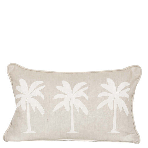 Palm Tree - White