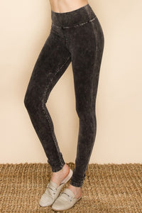 Maddie Mineral Washed Leggings