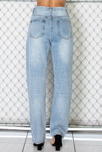 Load image into Gallery viewer, Aria Asymmetrical Straight Leg Denim Jeans