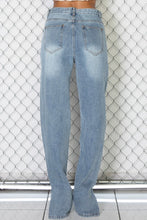 Load image into Gallery viewer, Polly Slit Denim Jeans