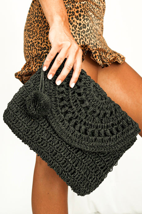 Brianna Braided Clutch