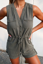 Load image into Gallery viewer, Paige Olive Romper