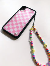 Load image into Gallery viewer, Y2K Smiley Beaded Phone Strap