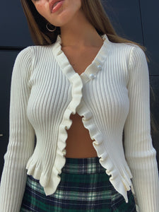 Chantel Ribbed Cardigan