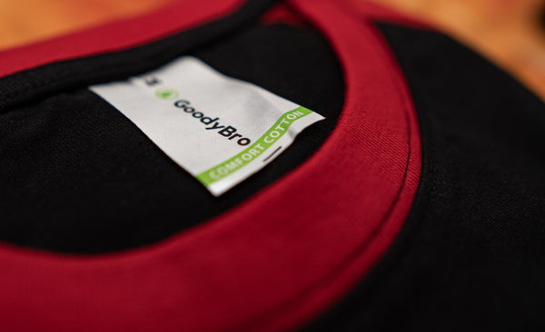 Black and Red Raglan - GoodyBro
