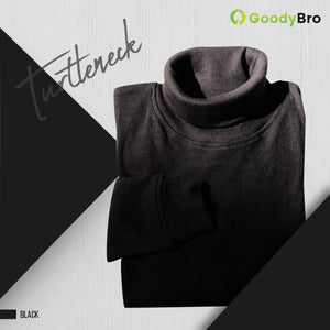Turtle Neck Black - GoodyBro