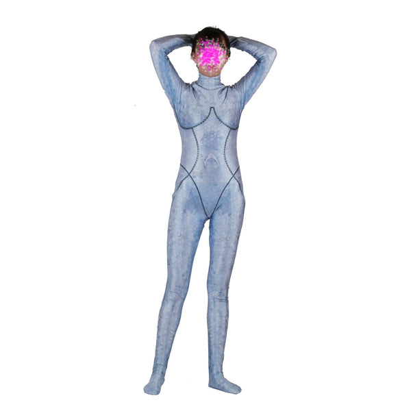 Women Kid Aquaman Atlanna Jumpsuit Cosplay Costume Queen Atlanna Bodysuit Zentai