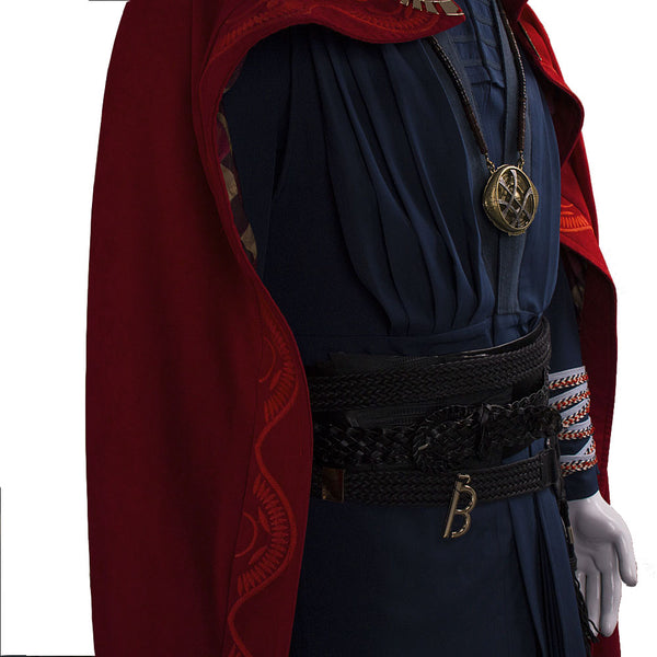 2016 Marvel Movie Doctor Strange Steven Vincent Cosplay Costume Full Suit