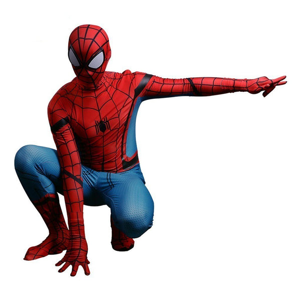 Adults Spider-Man Homecoming Cosplay Costume Jumpsuit Spandex Suit Superhero