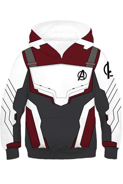 2019 New Hoodie Unisex Avengers 4 Endgame Quantum Realm Sweatshirt Jacket Advanced Tech Hoodie For Kids